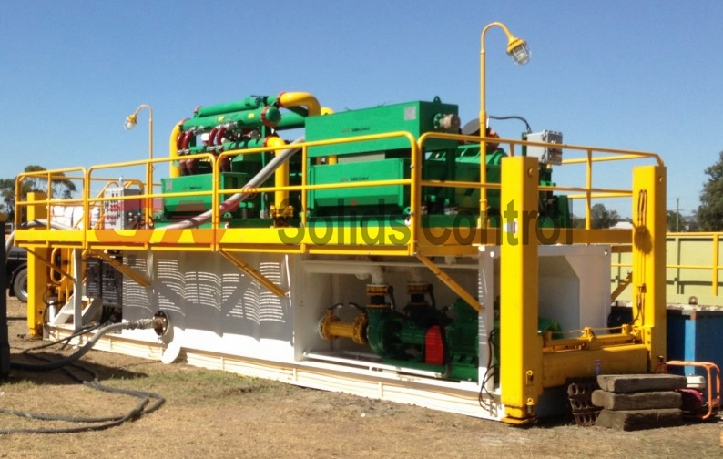 500GPM Hydraulic Jack Up Mud Recycling System