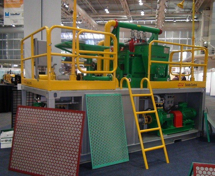 150 GPM Mud Recycling System