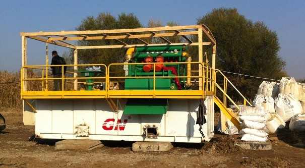 350 GPM Mud Recycling System