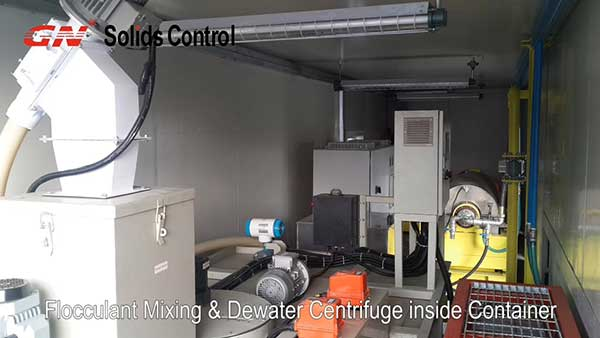 Mud Dewatering Unit Working Video