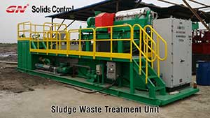 Oil Sludge Waste Treated by GN Centrifuge with Chemical For COSL